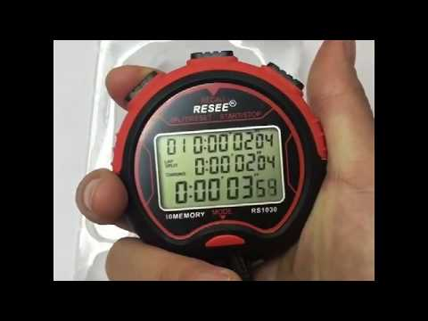 China RESEE brand sports stopwatch RS1030