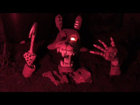 Twisted Foxy hand crafted model | Five nights at Freddy's - The Twisted ones |