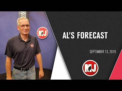 Al's Forecast | September 13th, 2019