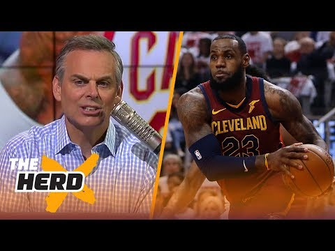 Colin Cowherd on Cleveland's Gm. 1 win over Toronto, Steph coming off the bench | NBA | THE HERD