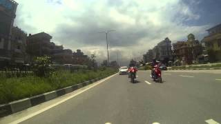 Super bikes nepal ride to dhulikhel