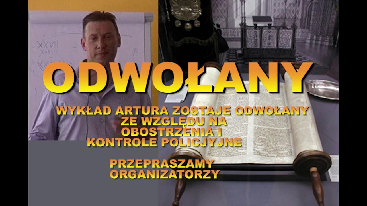 ARTUR LALAK - WYKŁAD 24-25 X 2020 ODWOŁANY