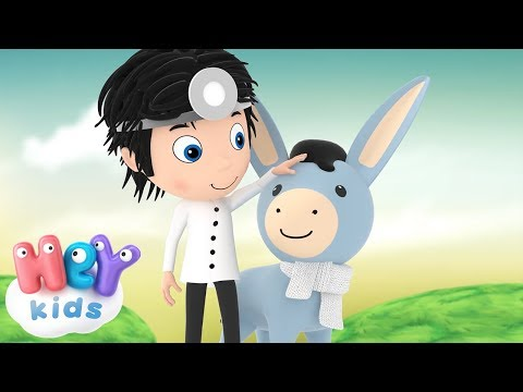 Dear Little Donkey - Song For Children - HeyKids