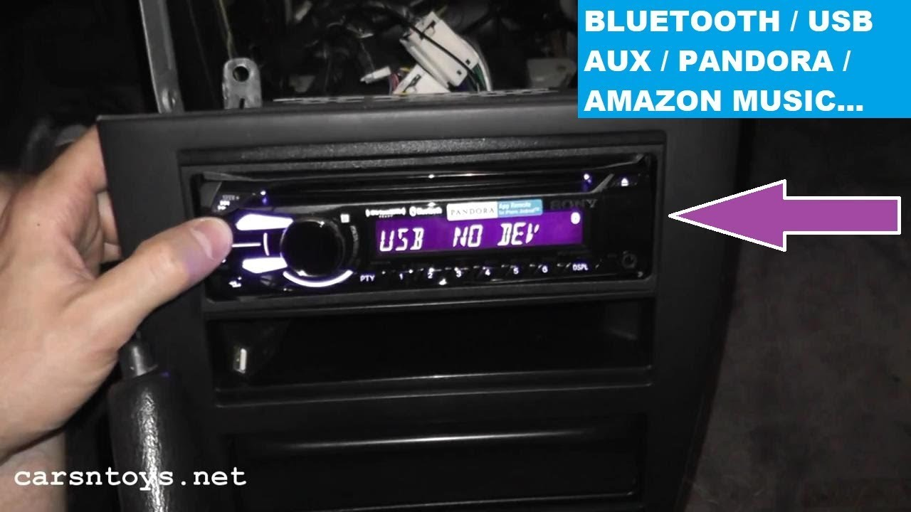 Nissan Maxima Aftermarket Radio Install with Bluetooth HD YouTube