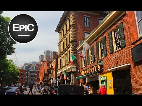 Downtown & North End - Boston, USA (HD)