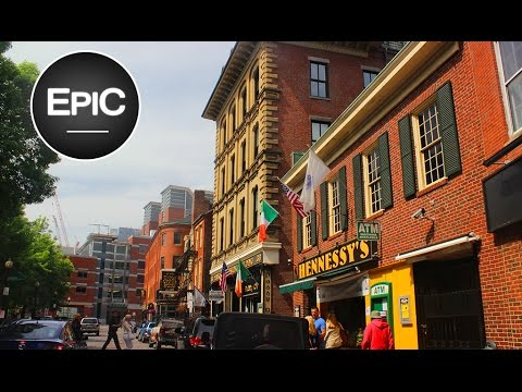 Downtown & North End - Boston, USA (HD)