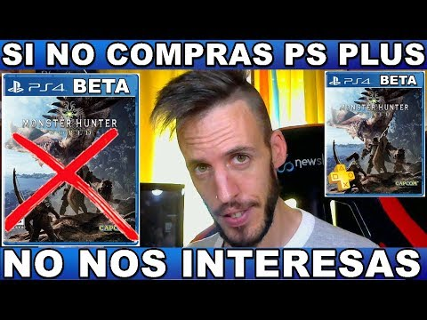 ¡¡¡BETA PS PLUS MONSTER HUNTER WORLD/PS4!!! Hardmurdog - Noticias - Playstation - 2017 - Español