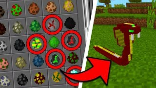 SCARY New Mobs in Minecraft PE 1.2! (Ancient Creatures Addon)