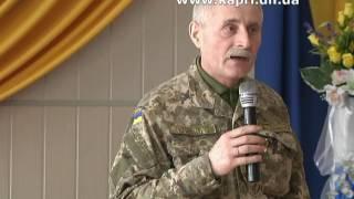 Афганцы получили в подарок от нардепа Евгения Геллера телевизор
