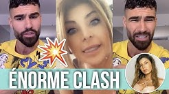 JONATHAN VS MELANIGHT : GROS CLASH ET RÉVÉLATIONS EN DIRECT 😱 'TU T'ES SERVI DE SARAH LOPEZ !! '