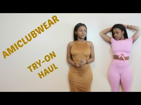 AMICLUBWEAR TRY ON HAUL (clothes+shoes) || NENE D