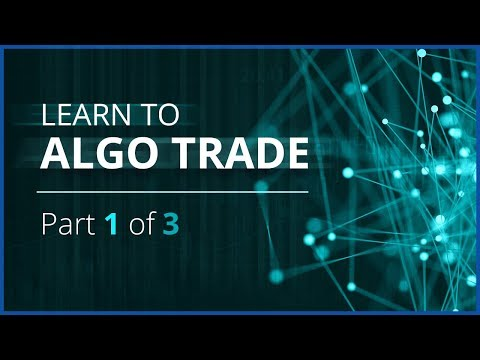 Algo Trading Webinar Series - Python and Historical Tick Dat