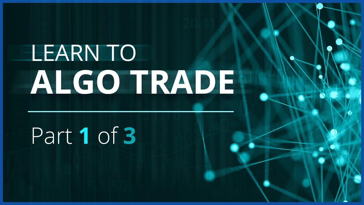 Algo Trading Webinar Series - Python and Historical Tick Data