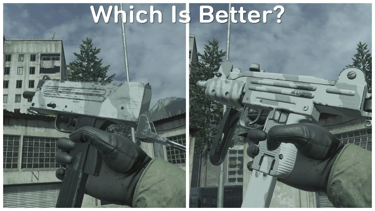 Mac-10 VS Mini-Uzi! - Which Is Better? - (Modern Warfare Remastered)