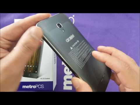 Alcatel Fierce 4 Unboxing and First look, For Metro Pcs\T-mobile