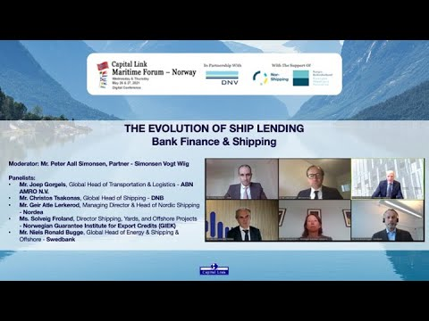 2021 Capital Link Maritime Forum - Norway: The Evolution of Ship Lending - Bank Finance & Shipping