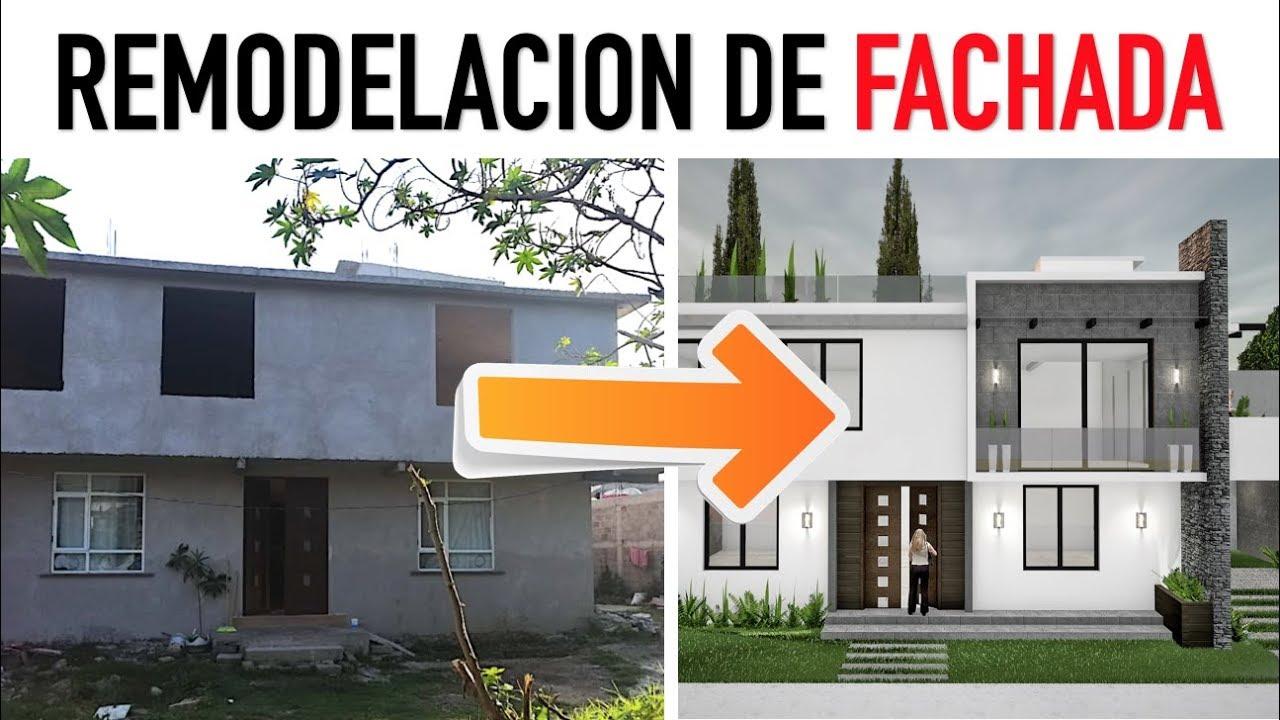 Remodelacion De Fachadas Proceso De Diseño Y Explicación Artosketch Youtube