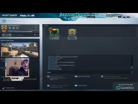 Caboose talks to Raid's chat after he thought Raid was gone.