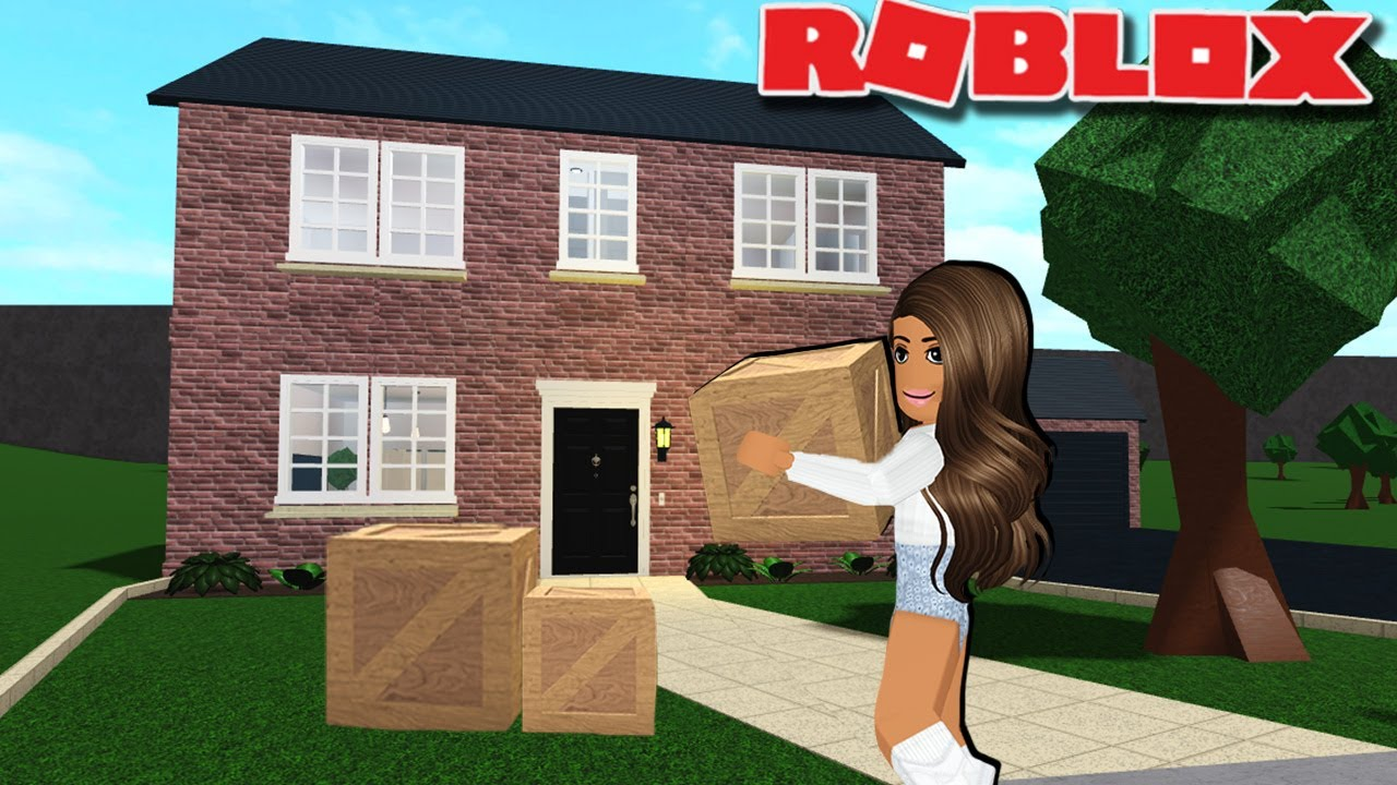 Amberry Roblox Bloxburg House I Made Our New Irl House In Bloxburg Youtube
