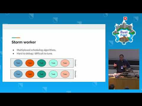 RustFest Zürich 2017 - Antimony: a real time distributed stream processing system by M. Makhlouf