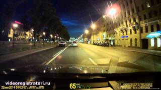 dATAKAM G5-CITY-MAX Обзор - Пример видео Ночь
