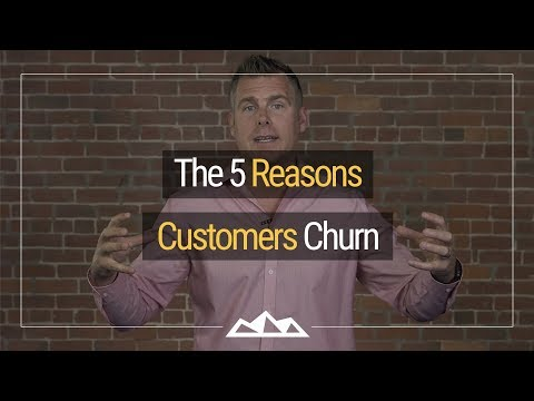 The 5 Reasons SaaS (Software-as-a-Service) Customers Churn | Dan Martell