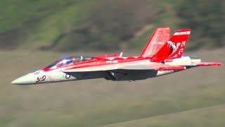 Exceed RC Red Viper F18 EDF Jet at SCCMAS