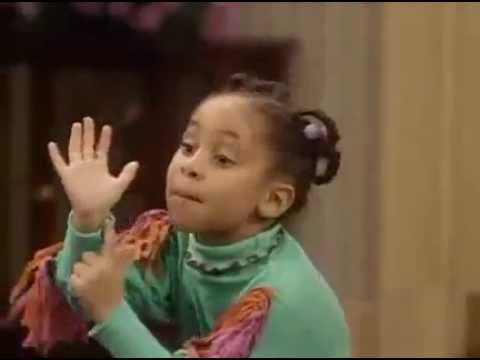 Funny little girl Olivia sings I'm a woman - The Cosby Show