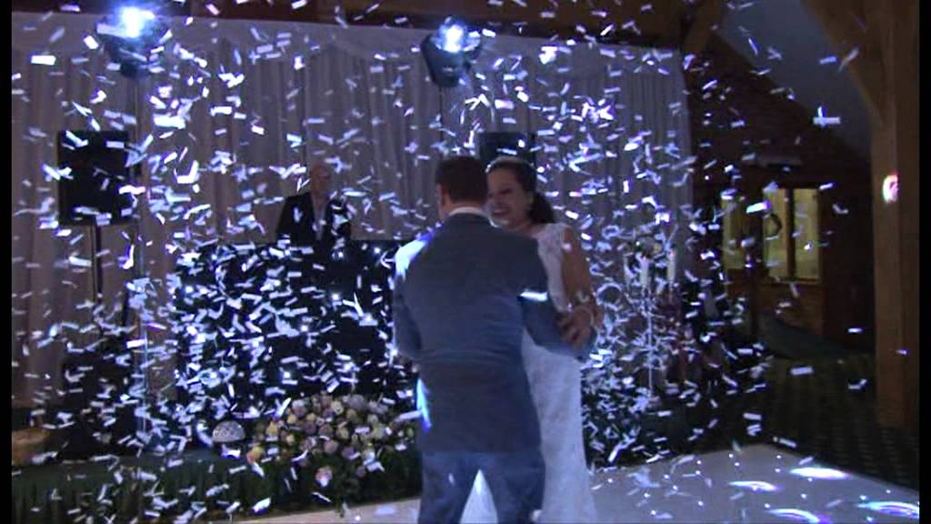 Wedding Confetti Cannons Amp Starlight Dance Floor