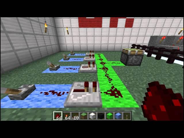 Minecraft NANDAND Gate Using Pistons Multiplayer Fix - Minecraft piston hauser