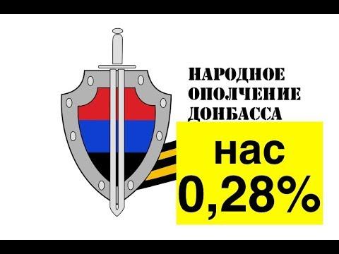 Как 0,28% взяли в заложники весь Донбасс