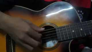 Bước Chân Lẻ Loi Guitar ( Cover By Dự_AYU )