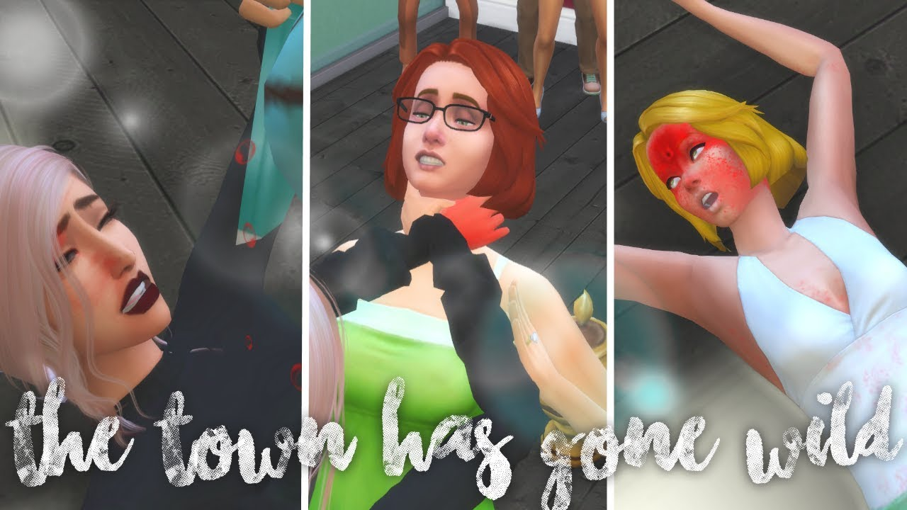 Download gif: Sims 4 extreme violence