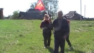 Бессмертный полк в деревне Медянки