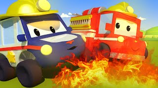 Download The Fire - Tiny Town: Street Vehicles Ambulance Police Car Fire Truck Mp3 and Videos