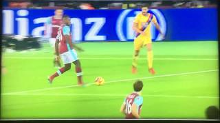 Andy Carroll Scissor Kick Goal Vs Crystal Palace
