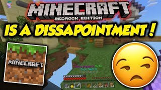 The Biggest Problem With Minecraft (Bedrock Edition)