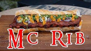 Mc RIB im Grill & Chill Style | DIY McRib | i`m lovin`it | Grill & Chill / BBQ & Lifestyle