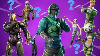 All My Skins!!! (Guess and Win Turkeys) #fortniteskins #fortnite