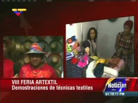 Ministro Reinaldo Iturriza inaugura Artextil 2014 en el Teresa Carreño