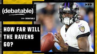 How far can Lamar Jackson take the Baltimore Ravens?   (debatable)