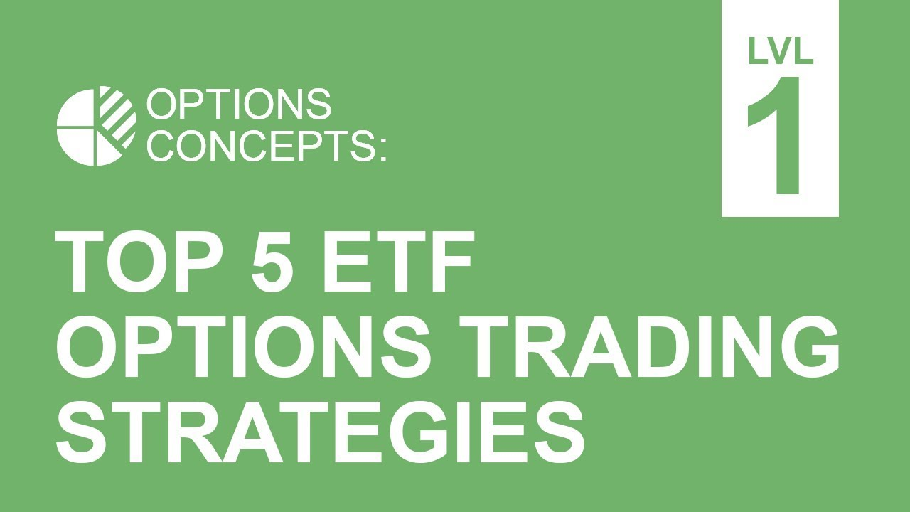 Etf options trading strategies