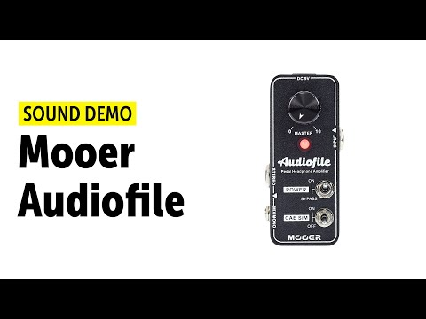 Mooer Audiofile - Sound Demo (no talking)