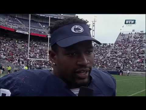 Jason Cabinda Interview - Penn State Spring Football