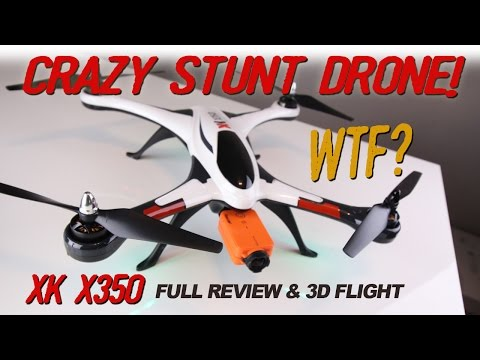 XK X350 - CRAZY 3D STUNT DRONE