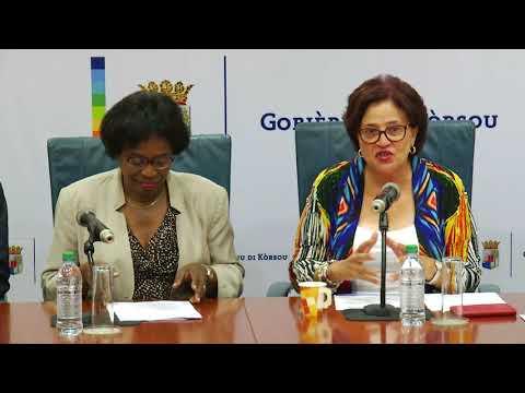Rueda di Prensa Blue Halo Curaçao - 17/08/2017