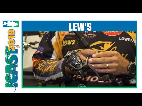 Lew's Speed Spin Spinning Reel With Drew Benton | ICast 2019