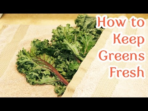 How to Keep Your Greens Fresh