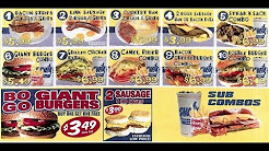 The Sheik Sandwiches & Subs - Camel Rider Combo $6.99