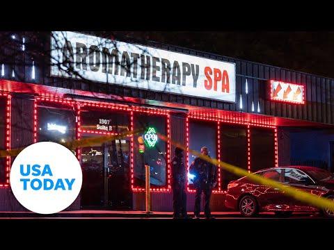 Atlanta officials hold press conference regarding Georgia massage parlor shootings   USA TODAY